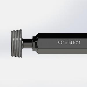Calibrador de rosca tampão